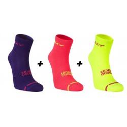 HILLY - Lite Anklet Pack de 3 - Femme