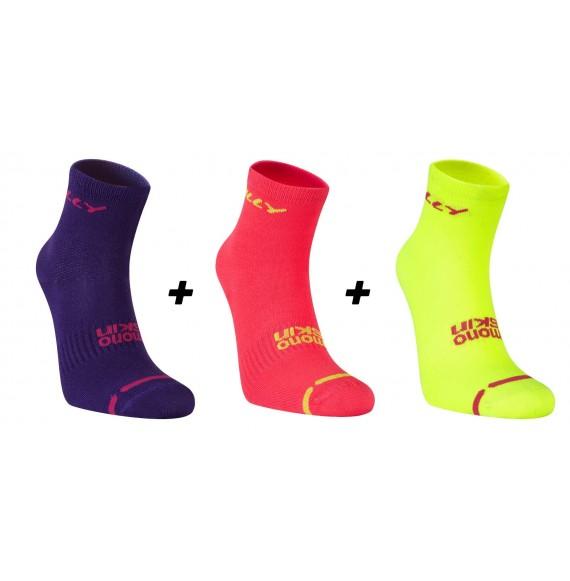 Lite Anklet Pack de 3 - Femme