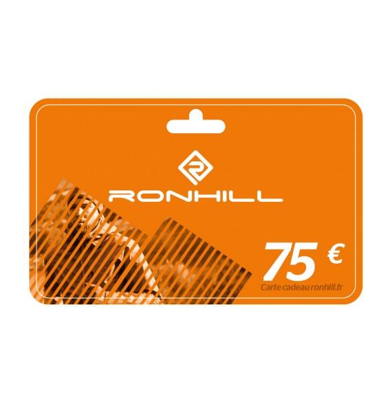 Carte cadeau Ronhill® 75€