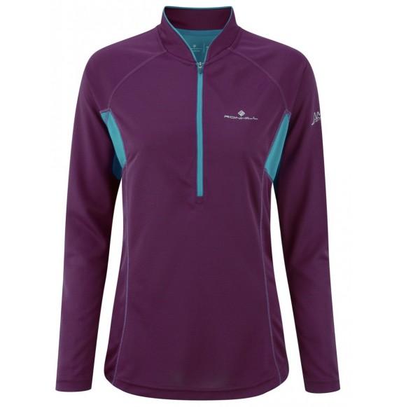 T-shirt ML Trail Zip