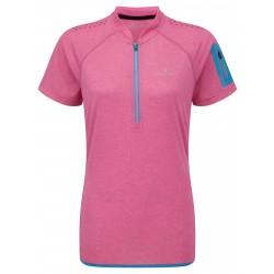 T-shirt Trail Zip Femme